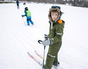 Det bästa med skidor är att det går fort tycker Wille Tamm.