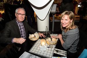 Mikael Bodén och Maria Jonsson från Järved.