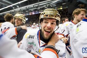 Eric Martinsson vann SM-guld med Växjö 2018. Foto: Petter Arvidson / Bildbyrån