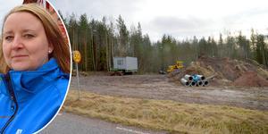 Enligt Säters miljö- och byggchef Helena Olander är det ännu inga beslut fattade om den här tomten i Arkhyttan.