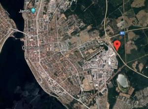 Google Maps. Kartan anger positionen för olyckan.