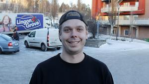 Alexander Strand, 29 år, sotare, Timrå.