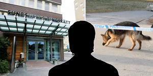 Personen anhölls på sannolika skäl misstänkt för mord. Senast under måndagen måste åklagare Jens Göransson begära den anhållna häktad. Bilder: Pontus Hellsén och Eva Lena Olsson