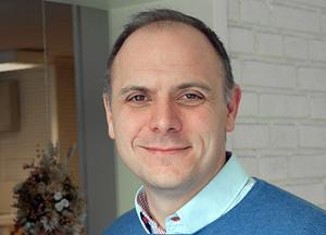 Fredrik Jarl (C) är stolt över C:s framgångar i EU-valet i Gagnef.
