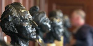 Byst av Gustav Mahler, utförd av Auguste Rodin. Bild: Jaqueline Larma, AP Photo