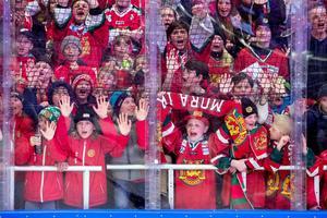 Under 2018 har Jalas Arena ett publiksnitt på 92 procent av full arenakapacitet. Foto: Daniel Eriksson