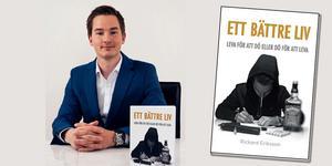 Rickard Eriksson utgick från sig själv när han skrev och gav ut sin bok på eget förlag. Foto: Mattias Månsson/mattiasphoto