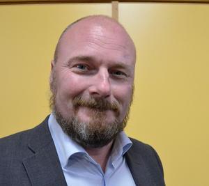 Per Söderlund, länsordförande för Sverigedemokraterna.