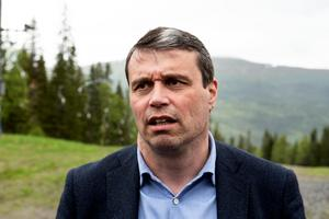 Daniel Kindberg, vd i Östersundshem, och ordförande i Östersunds FK.