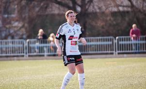 BK30:s Sofia From var rejält besviken på lagets arbetsinsats efter 0-2 mot Uppsala.