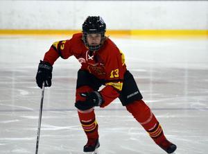 I vintras spelade Maximilian Kilpinen tre matcher med Norrtälje IK:s A-lag.