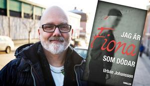 Urban Johansson från Bjästa är aktuell med sin femte roman.
