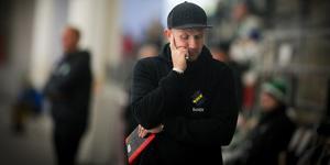 Andreas Bergwall, besviken men inte förvånad efter storförlusten mot Villa Lidköping.