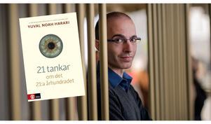 Yuval Noah Harari. Bild: Natur och Kultur