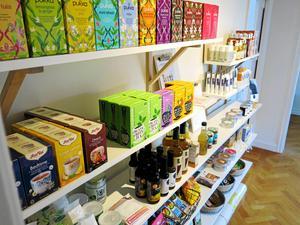 Här säljer Marie Hansson även sina ekologiska produkter.