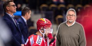 Björn Hellkvist och hans ledarstab har en del att ta tag i och jobba med, men det är ingen ko på isen, skriver sportens krönikör Per Hägglund. Bild: Robbin Norgren