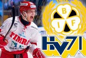 Johan Johnsson finns på både Brynäs och HV:s radar. Foto: Bildbyrån.