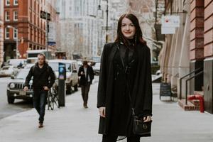 Zandra Högberg från Örnsköldsvik jobbar som frilansande fotograf i New York.  Bild: Joel Jungell