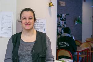 Karin Eriksson stortrivs med jobbet.