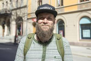 Martin Almqvist, 42 år, betongarbetare, Sundsvall: