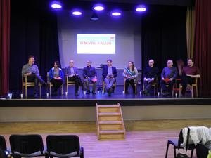 Nyligen möttes politiker och Svärdsjöbor för att samtala om bostadssituationen i området.