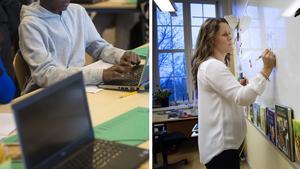 Den enskilt viktigaste faktorn för elevernas framgång är lärarna, och därför måste yrket uppvärderas, tycker Stig Sundqvist. Bilder: Fredrik Sandberg/TT / Jessica Gow/TT