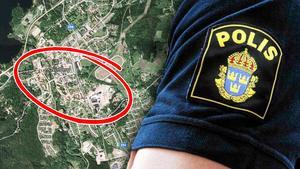 På onsdagseftermiddagen utsattes en man i Norberg för ett rånförsök. Polisen söker nu vittnen till händelsen. Foto: Google maps och arkivbild