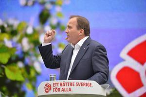 Enligt ett spelbolag är oddsen för att Stefan Löfven ska bli Sveriges nästa statsminister 1.18.