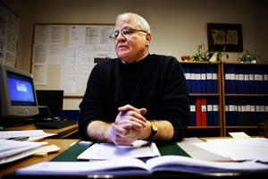 Om fem heltidstjänster skulle försvinna i en besparing får det katastrofala följder, menar rektor Theo Kritikos. ARKIVBILD: NIKLAS BJÖRLING