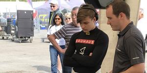 Hampus Ericsson tappade från fjärdeplatsen – en poäng från tredje – till sjunde i det brittiska formel 3-mästerskapet efter den struliga helgen på Silverstone. Arkivfoto: Thomas Ericsson