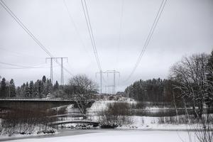 Bron över Indalsälven i Krokom, november 2019.