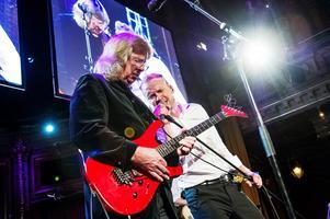Janne Schaffer och Tobias Ågren ska uppträda tillsammans i Nora kyrka. Foto: Robin Lorentz-Allard
