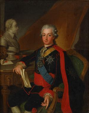 Gustaf III 1790. Målning av Per Krafft den äldre.