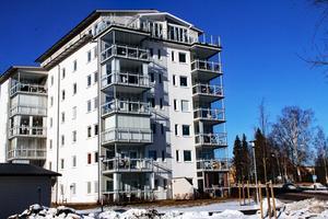 Sådana här höga hus kan även bli verklighet i Edsbyn. Exemplet är hämtat från Bollnäs.