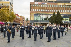 Även Stortorget i Gävle besöktes.