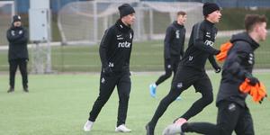 Johansson har precis tagit klivet upp till U19-truppen och hoppas att nästa steg ska bli A-laget – som han redan har fått träna med under sin tid i AIK.