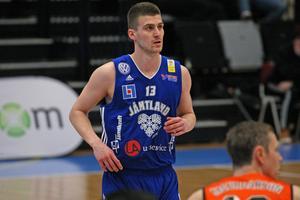 Niklas Larsson, tidigare Jämtland Basket.