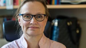 Sara Peltokorpi, rektor för restaurangutbildningen på Kristinegymnasiet.