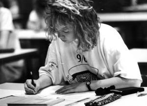 Anna-Karin Nilsson skrev det allra sista matteprovet veckan innan studenten 1989.