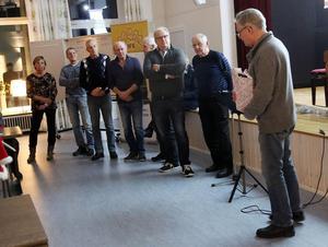 Hede företagarförenings ordförande Lars Bygdén presenterade årets Sonfjällsbygdare.