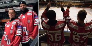 Modo-profilerna Samuel Påhlsson och Niklas Sundström är laddade för att ställa sig på ståplats på fredag.