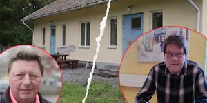 Vice kommunalrådet i Smedjebacken och kommunalrådet i Ludvika har hamnat på kollisionskurs i en affär som rör en gammal tvättstuga.