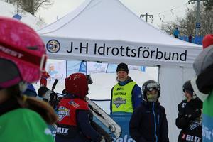 Stefan Westerberg, funktionär från Skärgårdens rodel- och kälkklubb.