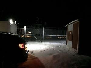 Under måndagseftermiddagen inträffade en arbetsplatsolycka med dödlig utgång i Tyfors i Ludvika kommun. Två män fick 30 000 volt ström i kroppen.