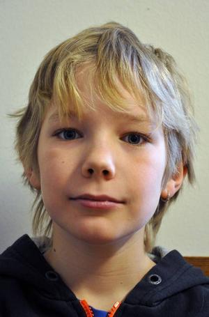 Felix Sångvall, 11 år, från Nälden.
