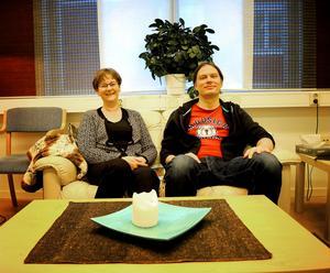 Helena Carlsten och Fredrik Sundqvist uppmuntrar medberoende att tänka mer på sig själva.