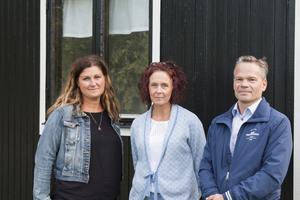 Erika Hansson, Lotta Ericsson och P-O Berg i föreningen Team Hudik är mycket nöjda med förändringen.