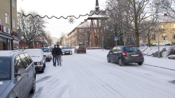 Just nu varierar prognoserna om julvädret i norra länsdelen, eftersom det är oklart hur lågtrycket passerar.