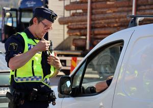 Ångepolisen Daniel Dübbel deltog i insatsen.