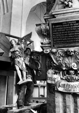 Domkyrkan återinvigs efter restaurering 1961. Foto: VLT